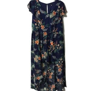 NWT AS U WISH Romper Maxi Dress 3x